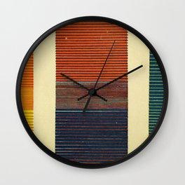 Antique Color Grades Wall Clock