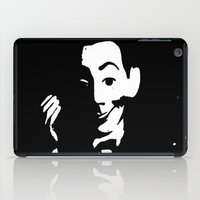 pee wee iPad Cases featuring Pee-Wee  by Geni