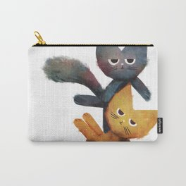 Lazy Cat Stack Carry-All Pouch