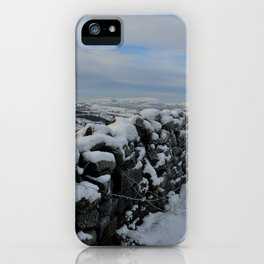 The Pendle Hills iPhone Case