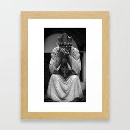 Mourn Your Faith Framed Art Print