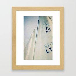 Sail #2 Framed Art Print