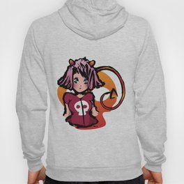Anime cute devil with skull Hoody