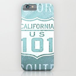 Route 101 iPhone Case