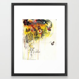 Double Dippers - Minga Framed Art Print