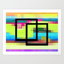 Time and Place Art Print