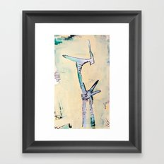 Victim of a Target Market Framed Art Print