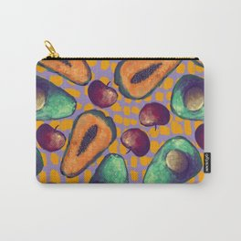 tropical fruits pattern Carry-All Pouch