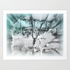 Life sucked away Art Print
