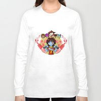 cooking Long Sleeve T-shirts featuring Cooking Che by marvelousghost