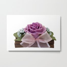 handmade bouquet for holiday Metal Print