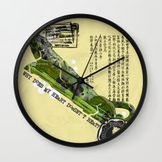 WHY DOES MY HEART DOESN' T BEAT? Wall Clock