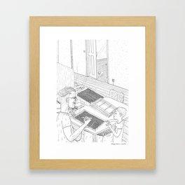 beegarden.works 016 Framed Art Print
