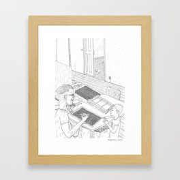beegarden.works 016 Framed Art Print