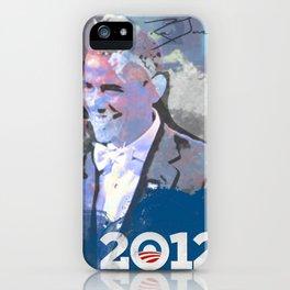 Obama 2012 iPhone Case