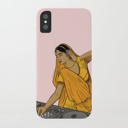 Dj Rani iPhone Case