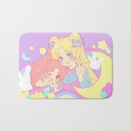 Usagi & Chibiusa Pastel Dream Bath Mat