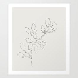 Floral Study No. 3 Art Print