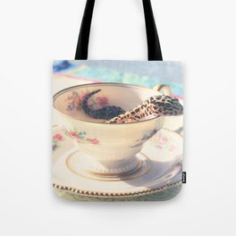 A Nice Cup of Gecko Tote Bag