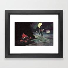 Mushroom Hunting Framed Art Print