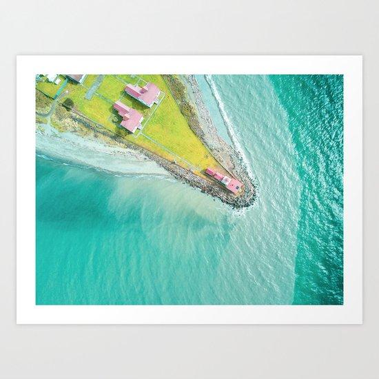 Green Island Art Print