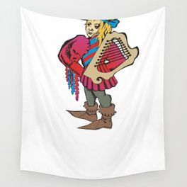 troubadour Wall Tapestry