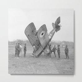 Plane crash. Metal Print