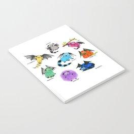 Eight Little Iggys Notebook