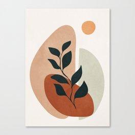 Soft Shapes II Canvas Print