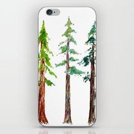 Tall Trees Please iPhone Skin