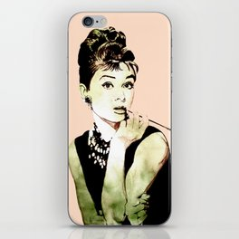 MISS GLOLIGHTLY - Breakfast at Tiffany´s - QUOTE iPhone Skin