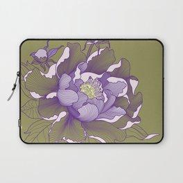 Peony flower Laptop Sleeve