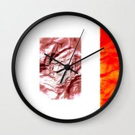 Washi *2 Wall Clock