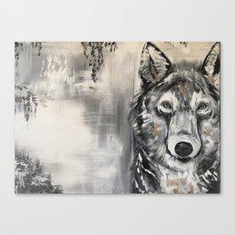 Steven the Wolf Canvas Print
