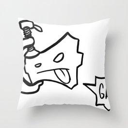 c-clamp champ Throw Pillow