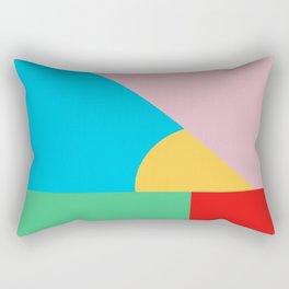 Circle Series - Summer Palette No. 2 Rectangular Pillow
