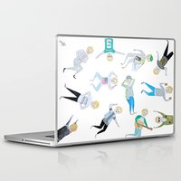 niall Laptop & iPad Skins featuring Niall Pattern by jerrh
