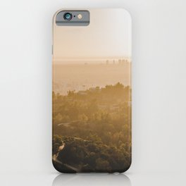 Golden Hour - Los Angeles, California iPhone Case