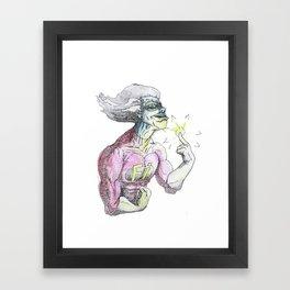 freakazoid Framed Art Print