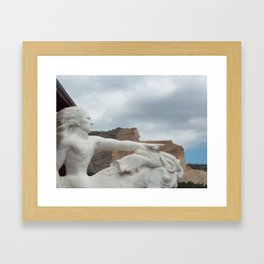 Crazy Horse Framed Art Print