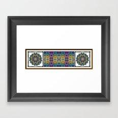 Deco Garden 3 Framed Art Print