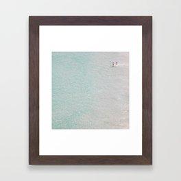 beach - summer of love II Framed Art Print