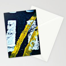 Road Markings Stationery Cards