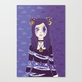Celestial Witch Canvas Print