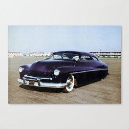 Jerry Quesnel '49 Merc Colorized Pot Canvas Print