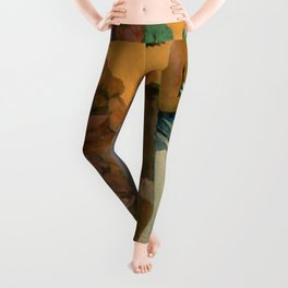 "Paul Gauguin ""The Month of Mary (Te avae no Maria)"" Leggings"