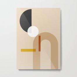 geometric abstract 71 Metal Print