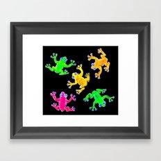 Rainforest Multicolour Framed Art Print
