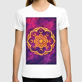 """Witchcraft""  WATERCOLOR MANDALA (HAND PAINTED) BY ILSE QUEZADA T-shirt"