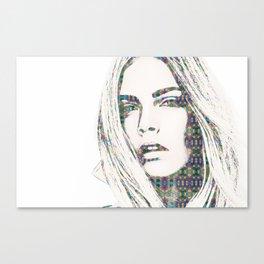 Cara Delevigne Canvas Print